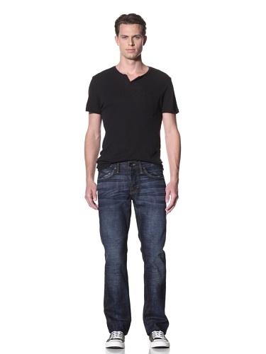 Dylan George Men's Dean Straight Leg Jeans (Bogen Blue)