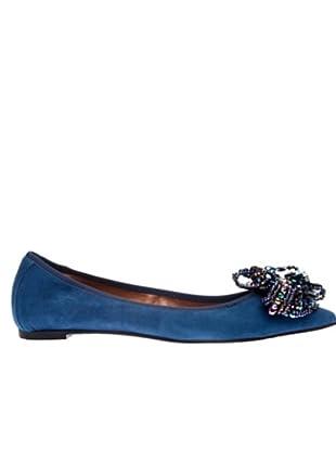 RAS Bailarinas Suede (Azul)