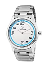 PREEZON Analogue White Dial Men's Watch - PI-SENSATION-01