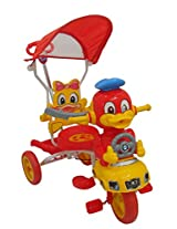 HLX-NMC KIDS TRICYCLE SMART DUCK RED