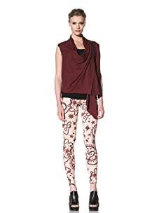 McQ by Alexander McQueen Women's Tattoo Leggings (Flesh Colored)