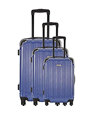 PLATINIUM Set de 3 trolleys rígidos Exeter