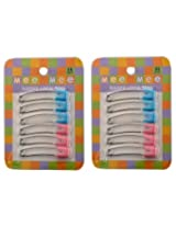 Mee Mee Safety Pin MM-3801 Blue & Pink Pack of 2