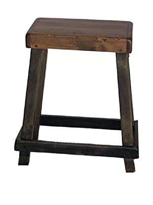 2 Day Designs Chef's Stool (Caramel/Noir)