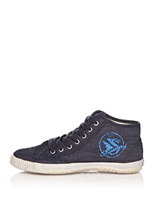 Shulong Zapatillas Shudenim High (Denim / Azul)
