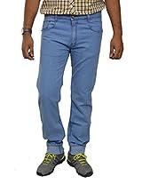 Studio Nexx Men's Denim Regular Fit Jeans -Light Blue, (38)