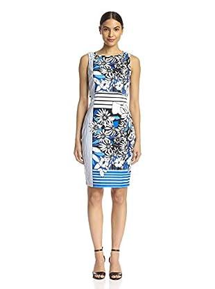 Badgley Mischka Women's Printed Popover Dress