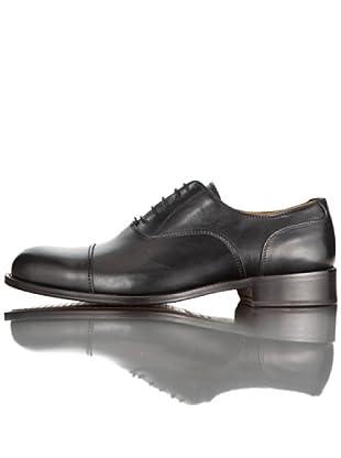 British Passport Zapatos Oxford Piel (Negro)