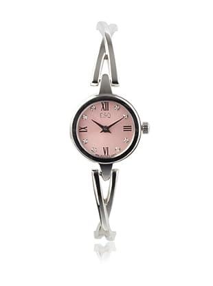 ESQ Movado Women's 07101358 Sienna Pink Diamond Dial Bangle Bracelet Watch