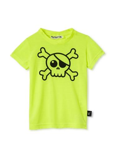 NUNUNU Kid's Pirate Tee (Neon)
