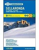 Valli Ladine e Sellaronda Ski Map (2 Maps) 2014: TAB.S.SCI2