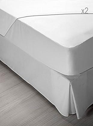 Pikolin Home Packs 2 Protectores De Tencel (Blanco)