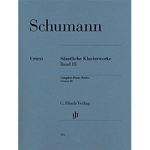 Saemtliche Klavierwerke 3