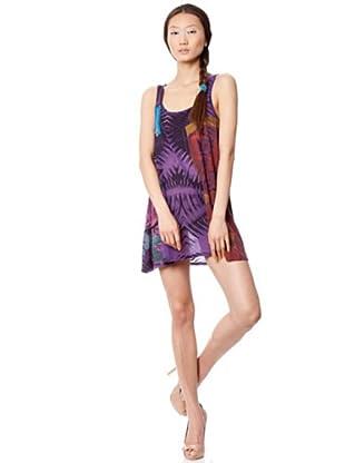 Custo Vestido Lin (morado)