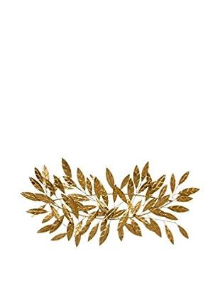 Concept Luxury Wanddeko Leaves goldfarben