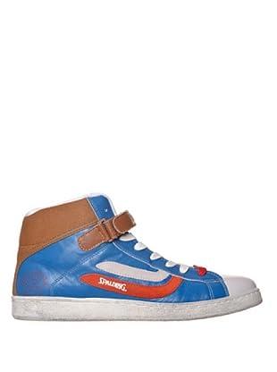 Spalding Zapatillas Mvp High (Azul / Rojo / Marrón)
