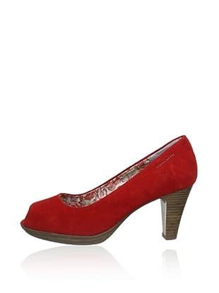 Tamaris Zapatos Henri (Rojo Ante)
