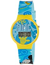 Disney Digital Blue Dial Boy's Watch - DW100470