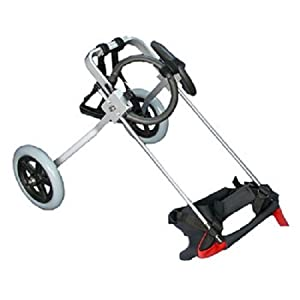 "Dog Wheelchair Size: X-Small (15"" H x 8"" W x 4"" D)"