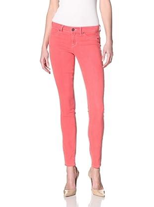Rich & Skinny Women's Foam Dye Skinny Jean (Punched Up)