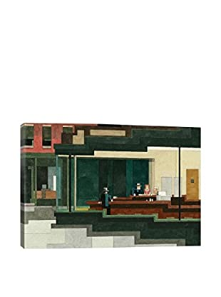 Adam Lister Gallery Nighthawks #1 Wrapped Canvas Print