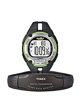TIMEX Reloj de cuarzo Man Ironman Road Trainer HRM Negro 42 mm