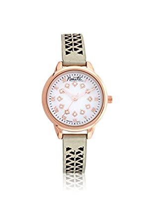 Nanette Lepore Women's 80703 Rose Gold-Tone/Mother of Pearl Alloy Watch