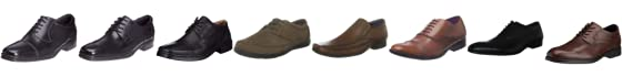 Hush Puppies Men's Jubilee Oxford Leather