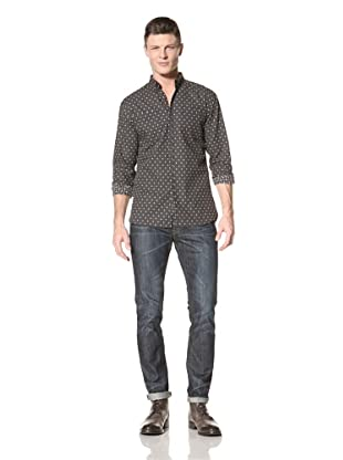 Fremont Men's MOTS Labor Woven Shirt (Black Print)