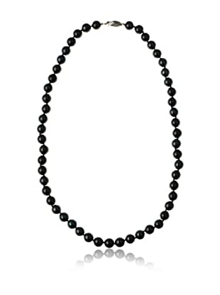 Radiance Pearl AAA Quality Black Akoya Pearl Necklace
