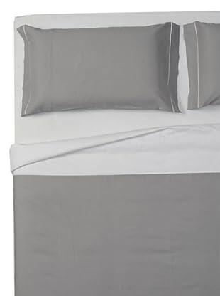 Ipersan Parure Copripiumino Double-Color (grigio/bianco)