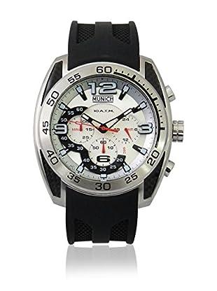 MUNICH 10 ATM Reloj con movimiento cuarzo japonés Man MU-133-1B 48 x 54 mm