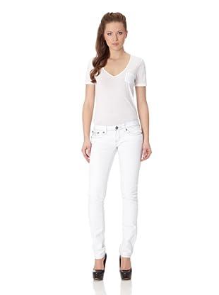 Antique Rivet Jeans Scarlette (Frost)