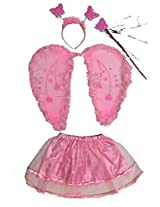 MBGiftsGalore Pink Angel Wings Costume