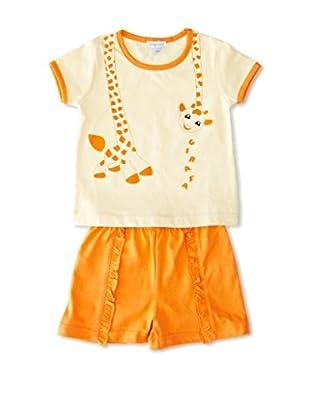 Pillerias Pijama Quíos (Naranja)