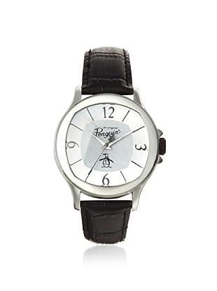 Original Penguin Men's OP-1032-SL Sid Silver/Black Watch