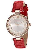 Giordano Analog Silver Dial Women's Watch - A2039-05