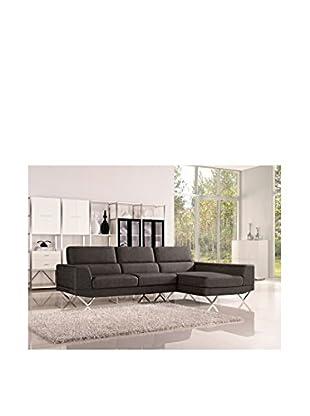 DG Casa Morgan Sectional Sofa Right Facing Chaise, Charcoal