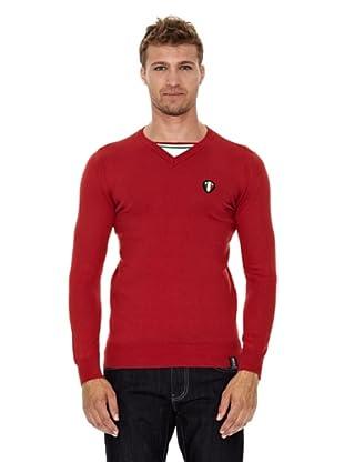Unitryb Jersey CuelloPico (Rojo)