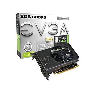 EVGA GeForce GTX 750Ti SC 2GB GDDR5 Graphics Card 02G-P4-3753-KR