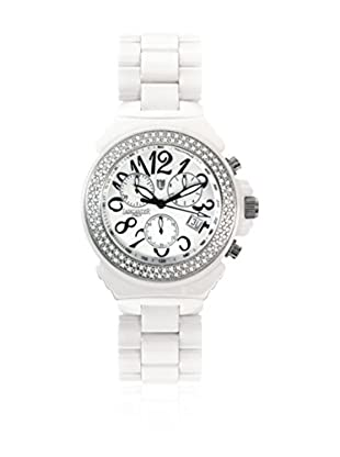 Lancaster Reloj con movimiento cuarzo suizo Woman Ceramik Chrono Diamond 40.0 mm
