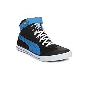Puma Unisex Black & Blue 917 Mid 2.0 Ind. Casual Shoes