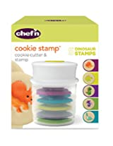 Chef'n Cookie Cutter and Stamp (Dinosaur Shapes)
