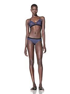 The Lake & the Stars Women's SuperStudious Bikini (Navy)