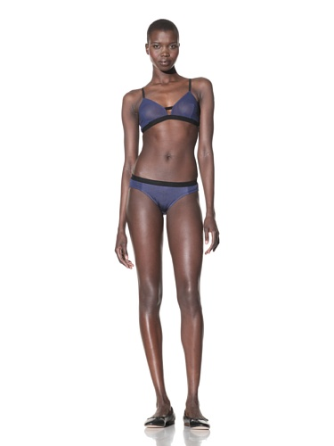 The Lake & the Stars Women's SuperStudious Bikini (Navy)