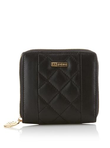 Gorjana Women's Williamsburg Small Quilted Wallet (Black)