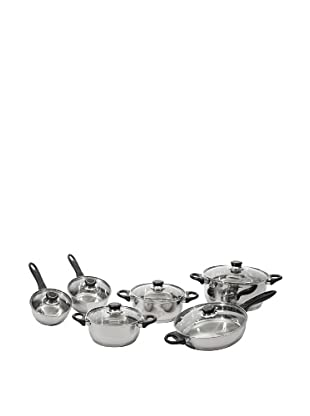 Berghoff Ostend 12 Piece Cookware Set Stainless Steel