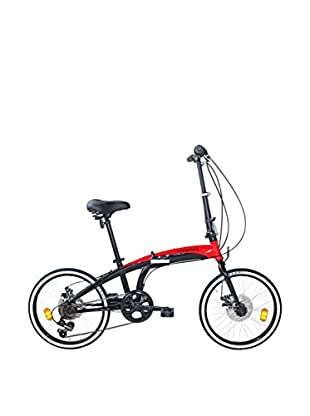 Linea Fausto Coppi Fahrrad Car Bike Disco rot/schwarz