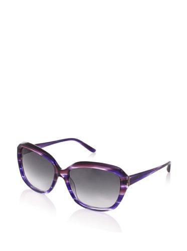 Theory Women's TH2131 Sunglasses, Grape-Blue