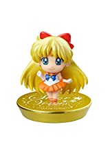 "Sailor Moon - GLITTER Mini Figure Megahouse Aprox. 1.5""-(A) Sailor Venus"